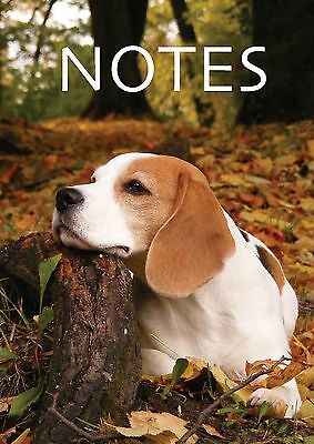 A6 Small Notepad Wirobind Perfect for Shopping Lists & Ideas Dog & Puppy Designs