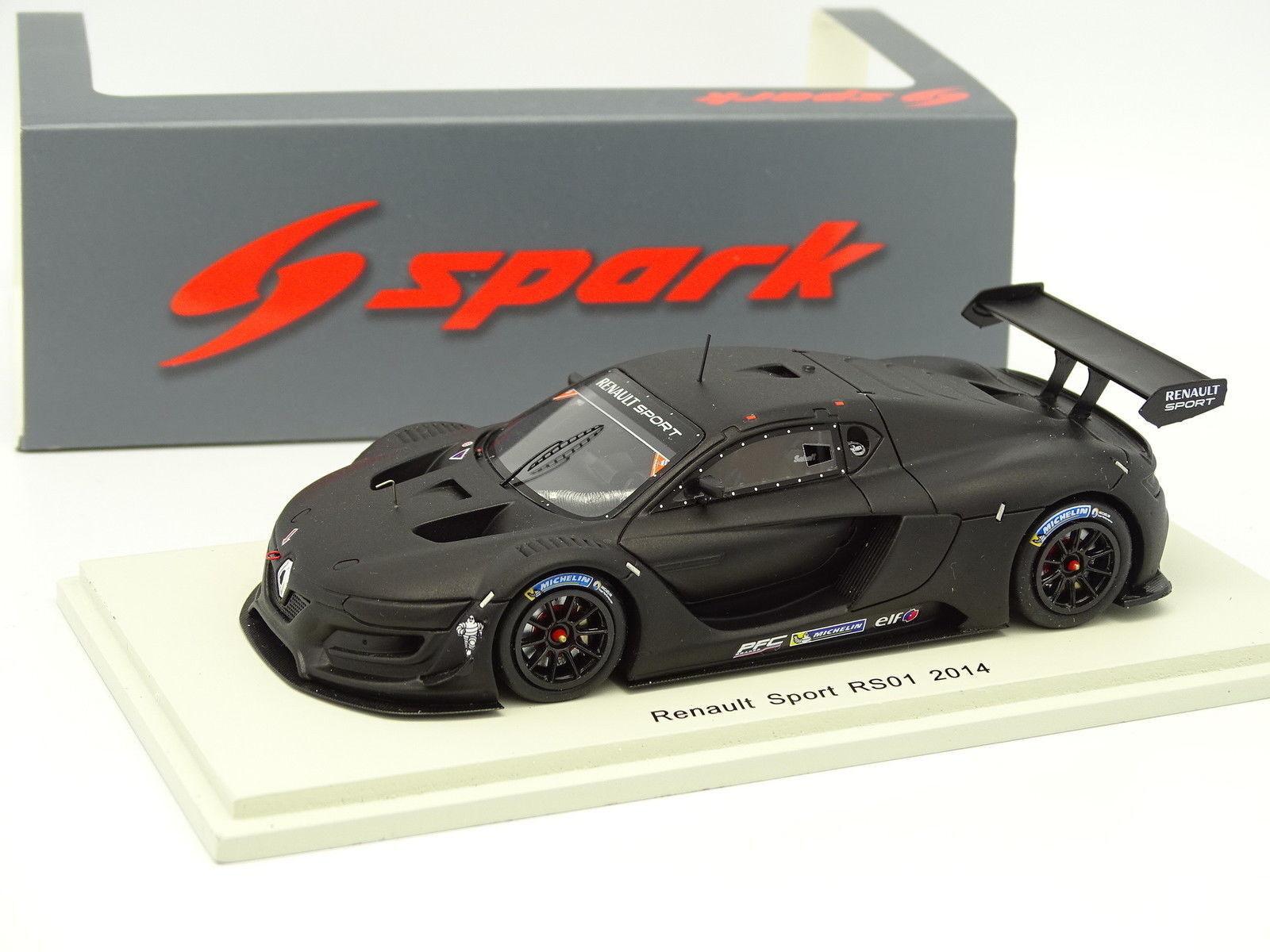 Spark 1 43 - RENAULT SPORT RS01 2014 Negra Mate