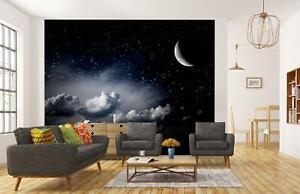 VLIES FOTOTAPETE Nachthimmel Sterne Tapete XXL Vliestapete