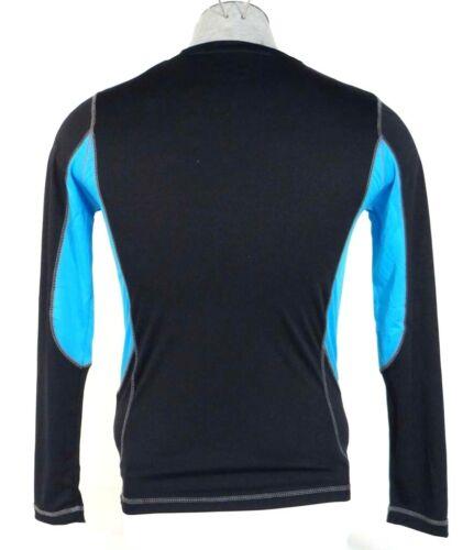 TapOut Signature Black /& Blue Long Sleeve Athletic Shirt Men/'s NWT