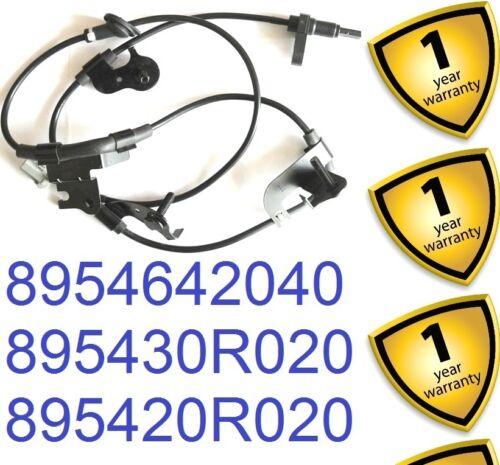 Toyota Rav 4 Mk3 2.0 2.2 D-4d d-cat Vvti 2006-12 Trasera Izquierda Abs Sensor 895420r020