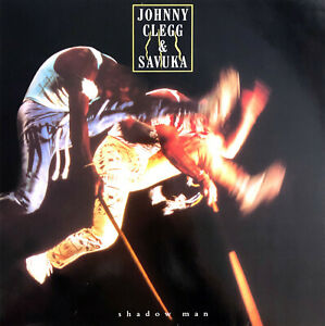 Johnny-Clegg-amp-Savuka-LP-Shadow-Man-France-EX-EX