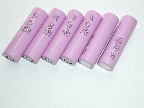 inr chemistry 18650-3000 mAh batterie//akku samsung 30Q 15A.descharge7C 23Mr