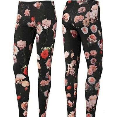 Adidas Originals roses Trefoil Leggings Yoga Gym Pantalon
