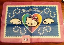 Sanrio Hello Kitty Bathroom Bath Rug Rare - Heart w Angel Wings
