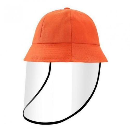 Fisherman Full Face Hat Protective Cap Cover Kids Boys Girls Children Detachable