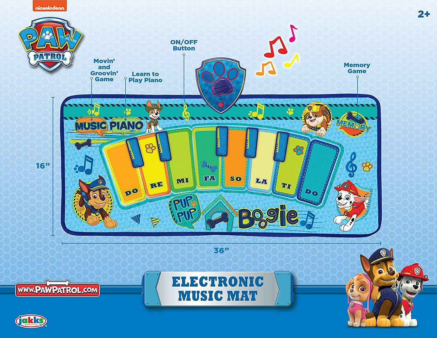 NEW Paw Patrol Electronic Music Mat Piano Piano Piano Learning Games Christmas Birthday Gift 7c9f3f