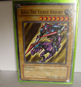 Details About Gaia The Fierce Knight Starter Deck Yugi Sdy 007 Common Yugioh