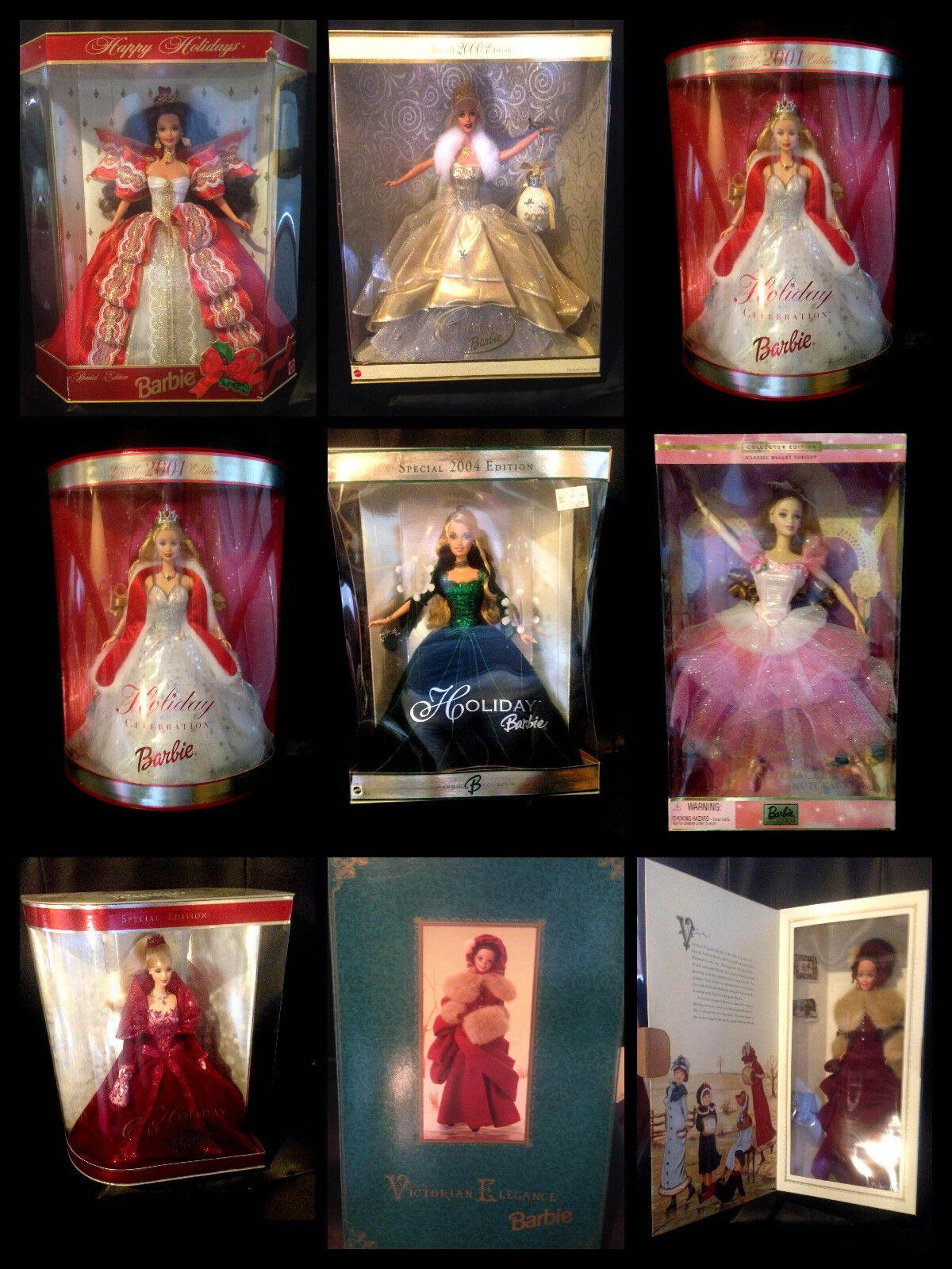 Vacaciones Barbie Muñecas. varios años, 2000, 2001, 2004,10th Estela y más