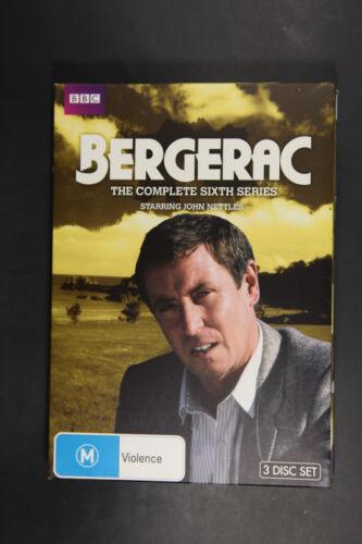 1 of 1 - Bergerac : Series 6 (DVD, 2013, 3-Disc Set) VGC Region 4 (Box D58)
