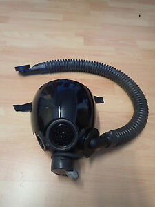 Gasmaskenschlauch-Gummi-Wellschlauch-NBC-fuer-MCU-S-10-Gasmaske-Latexmaske-Latex