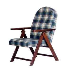 Poltrona anziani poltrona relax sedia sdraio legno sedia imbottita ebay - Sedia sdraio imbottita ikea ...