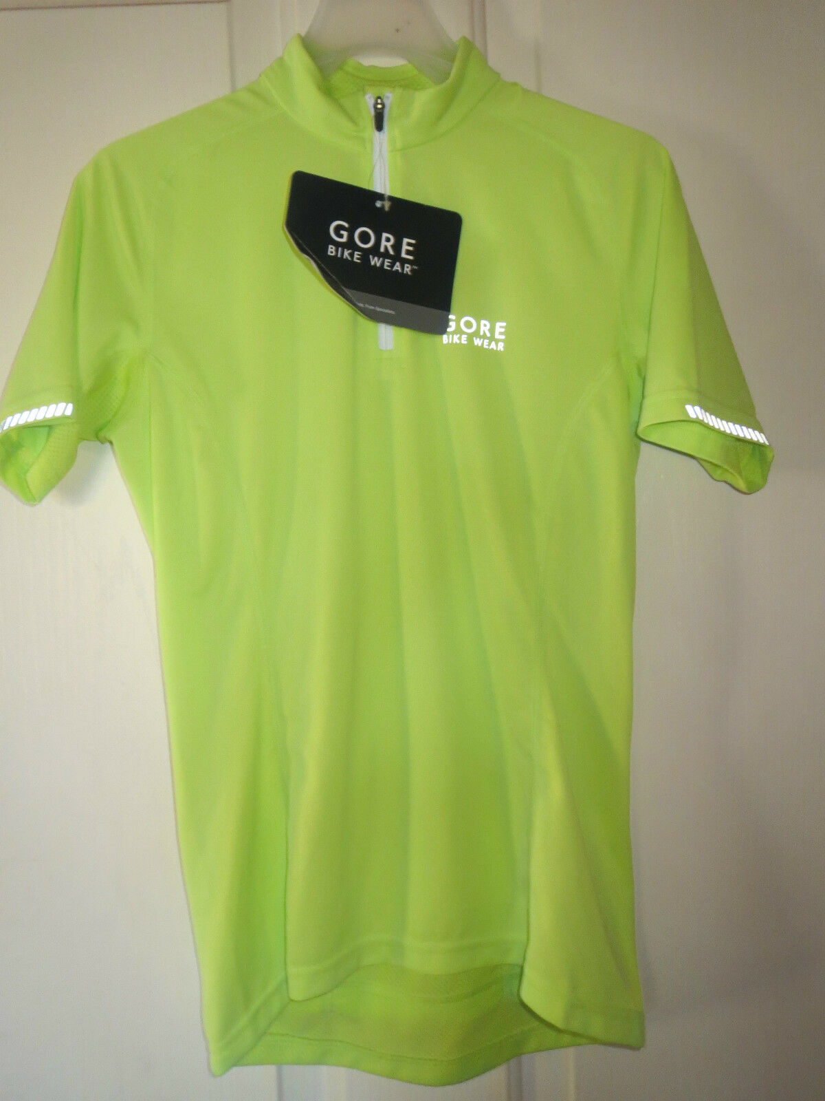 NWT Gore Bike Wear Contest II  Lady Cycling Jersey Shirt Women's Green XS  discount sales