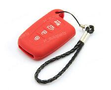 Red Remote Silicone Case Cover For Kia 4 Buttons Smart Key Forte Optima K4RE