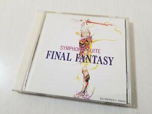 Symphonic Suite Final Fantasy Audio CD 1999 Japan 0801A6
