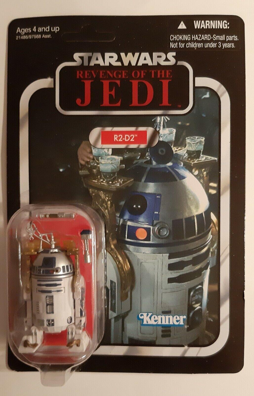 Star Wars Vintage Collection R2-D2 Revenge of the Jedi SDCC 2011 MOC vc25