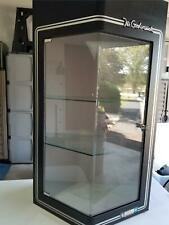 Vintage Mr Goodwrench Gm Shop Display Cabinet With Glass Shelves 40 X 24 X 18