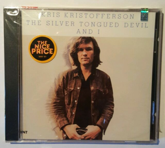 The Silver Tongued Devil and I - Kris Kristofferson- CD (1988)