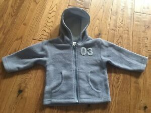 6b54e18bf Baby boy zipped fleece hoodie blue size 612 months Tiny Ted - Peterborough,  United Kingdom