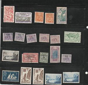Lot De (21) France Et Colonies Timbres-afficher Le Titre D'origine Facile Et Simple à Manipuler