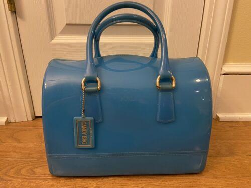 FURLA Turquoise Candy Bag