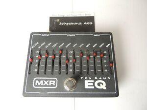 MXR 10-Band Equalizer EQ Effects Pedal M108 Dunlop Free USA Shipping