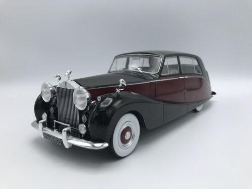 Rolls royce silver espectros Empress by Hooper negro//rojo RHD 1956 1:18 microg nuevo