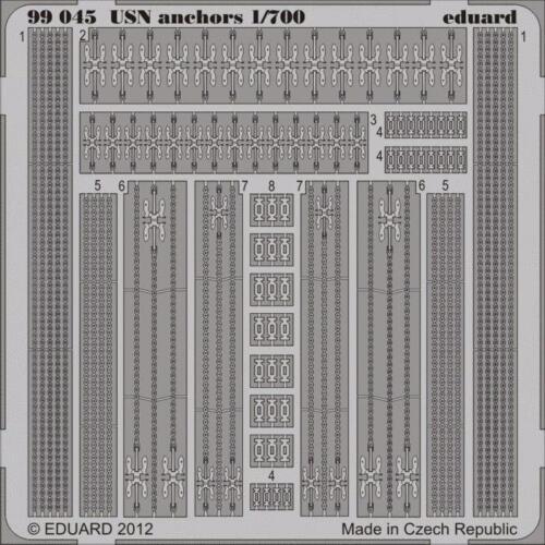 eduard 99045 1//700 Ship USN Anchors *