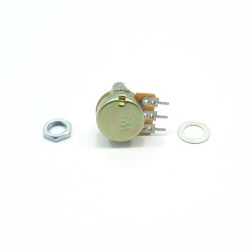 2x Mono Lineal B Potenciómetro Ohm Mezclador Volumen Tono Lin