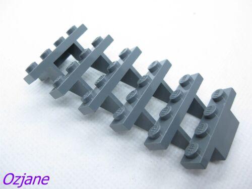 LEGO PART 30134 STAIRS 7 X 4 X 6 STRAIGHT OPEN DARK BLUISH GREY 6 STEPS
