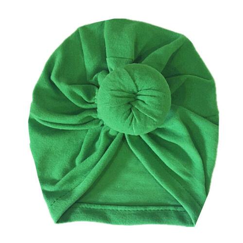 Kinder Mädchen Turban Mütze Hijab Kopftuch Beanie Babymütze Kopfbedeckung Hüte