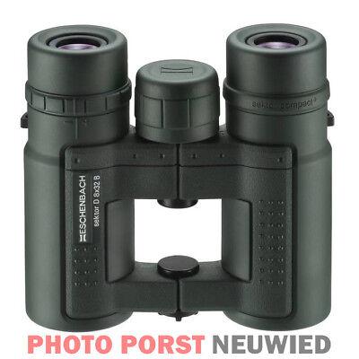 Eschenbach prismáticos sector Compact f 8x25 B compacto a distancia de vidrio con bolsa