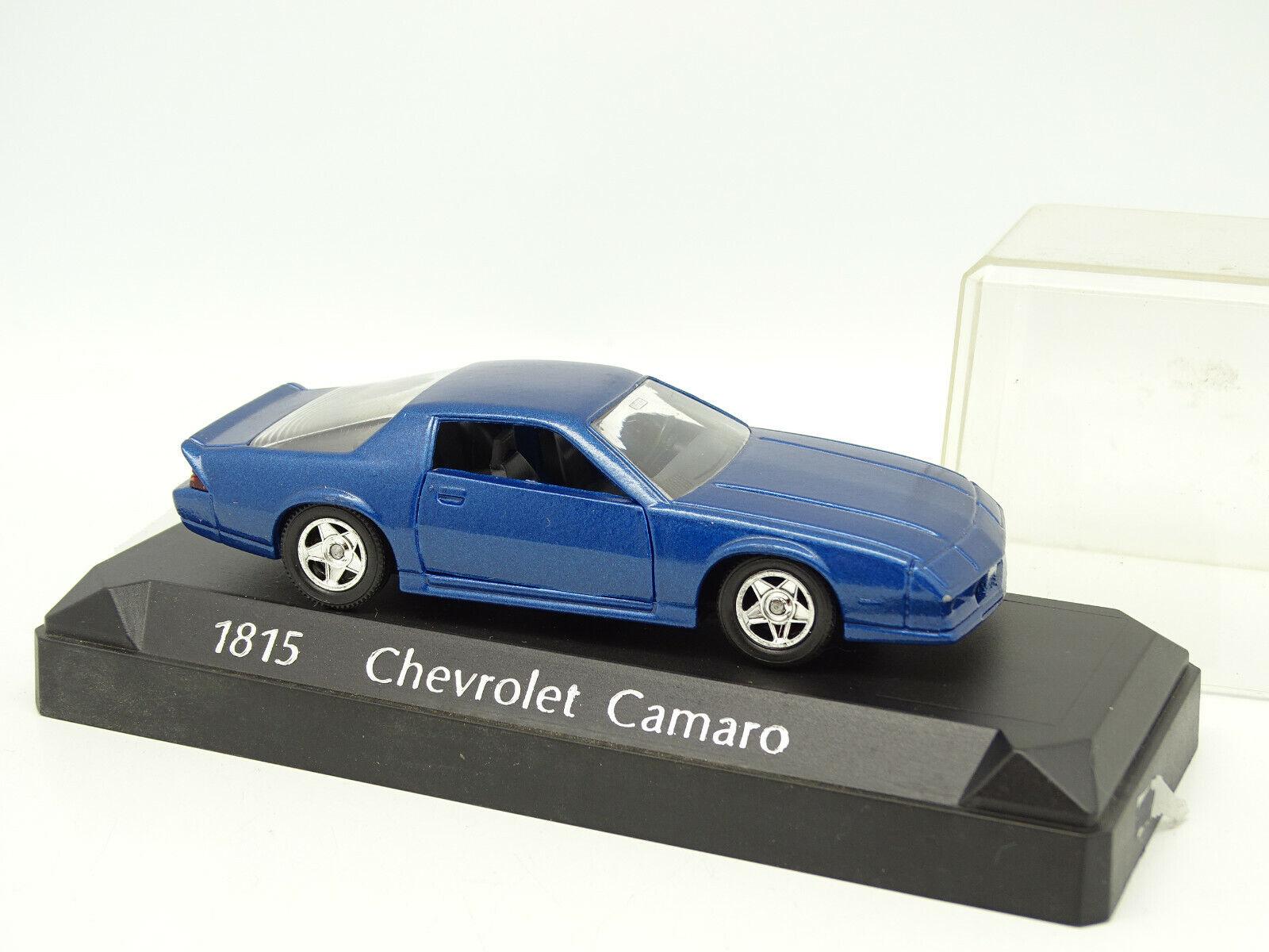 Solido 1 43 - Chevrolet Camaro bluee