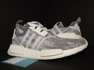hot sale online a1c10 d6372 Details about ADIDAS NMD R1 PK PRIMEKNIT GLITCH CAMO OREO WHITE CORE BLACK  GREY XR1 BY1911 8