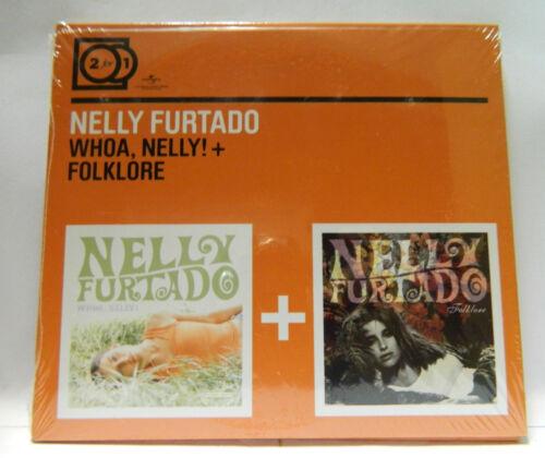1 von 1 - NELLY FURTADO 2 for 1 whoa nelly! + folklore CD NEU & OVP 600753186305    REGAL3