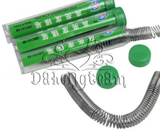 TUBE 63/37 TIN RESIN LEAD SOLDER IRON DISPENSER WIRE FLUX ELECTRICAL SOLDERING