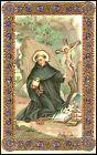SANTINO HOLY CARD IMAGE PIEUSE - SAN FILIPPO BENIZI - SACERDOTE
