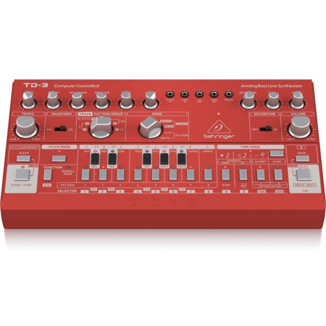 Behringer TD3 RD Analog Bass Line Synth