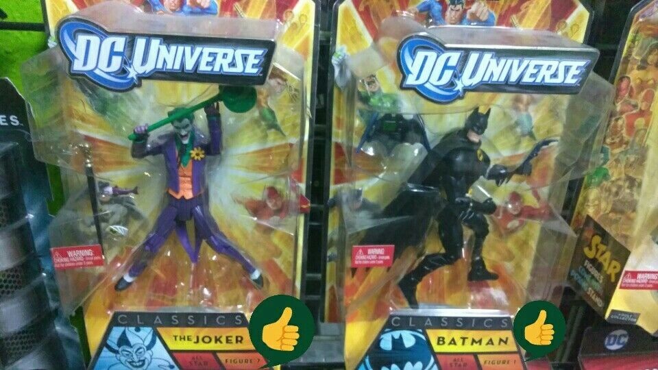 Dc - universum - klassiker hat batman und joker