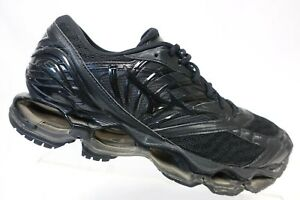 MIZUNO-Wave-Prophecy-8-Black-Sz-10-Men-Running-Shoes