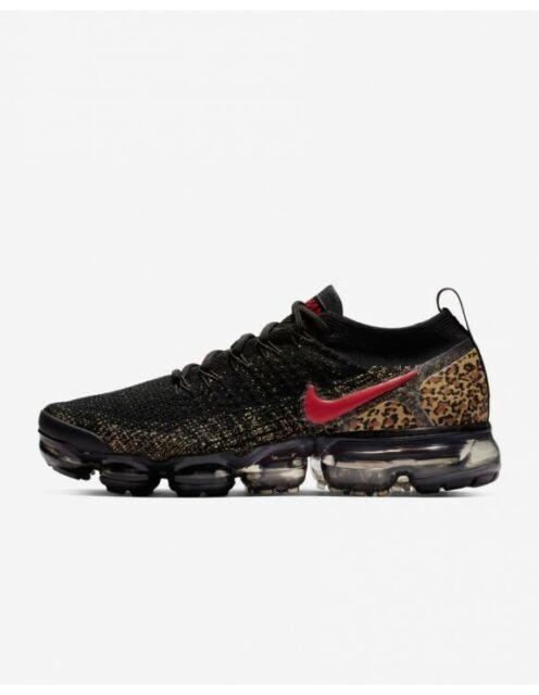 best service 0e5fa 92e97 Nike WOMEN S Air Vapormax Flyknit 2 CHEETAH LEOPARD SIZE 7 BRAND NEW SOLD  OUT