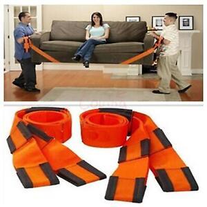 2pcs free shipping furniture moving belt team straps easy