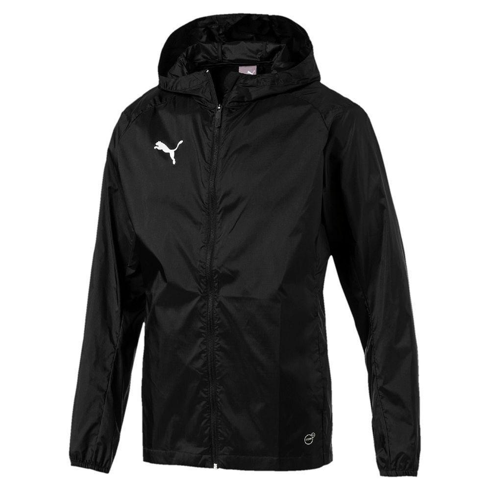 Puma Fußball Fußball Fußball Liga Training Regenjacke Core Fußballjacke Herren schwarz 989036