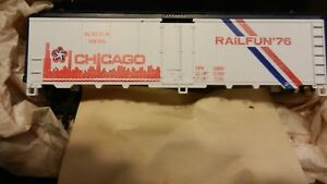 Athearn-NMRA-Ltd-Run-HO-Wood-Sided-Reefer-Kit-Railfun-1976-NIB