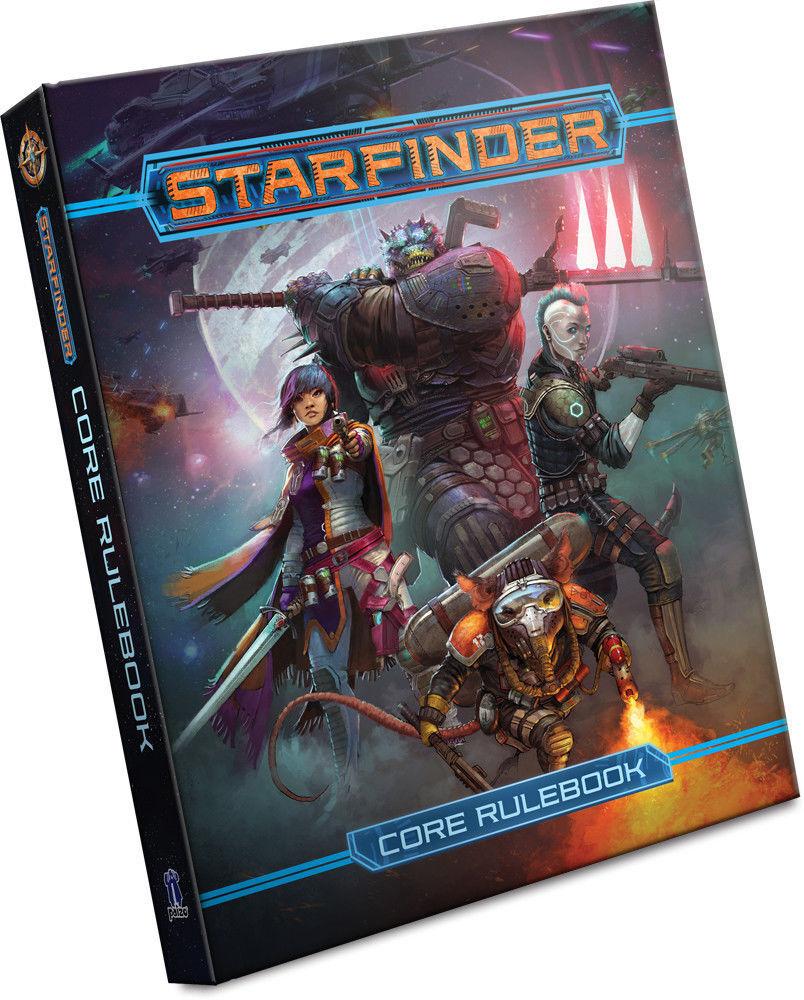 Estrellafinder Sci-Fi Roleplaying gioco Core Rulelibro by Paizo PZO7101  Hardcover  negozio outlet