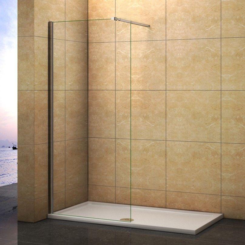 120x200cm Walk In 10mm Nano Glas Dusche Duschwand Duschabtrennung Duschkabine
