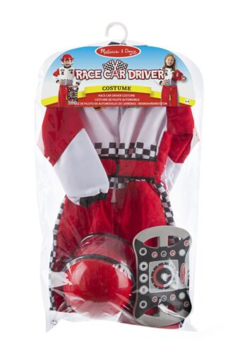 Boys Kids Childs Racing Driver Grand Prix F1 Fancy Dress Costume Outfit Age 3-6