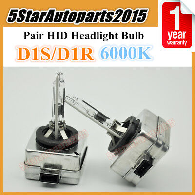 2x D1R Hid Xenon Headlight Bulb substituição para lâmpadas Philips Ou Osram 35W 6000K