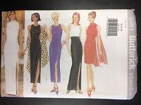 Butterick 4881 Misses'/misses' Petite Dress & Scarf - Sizes 6-8-10