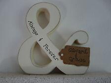 Personalizzata shabby chic regalo di fidanzamento-fatti a mano in legno & e commerciale